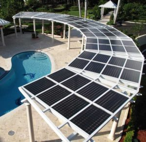 Get Solar On Top Of Your Patio Cover.
